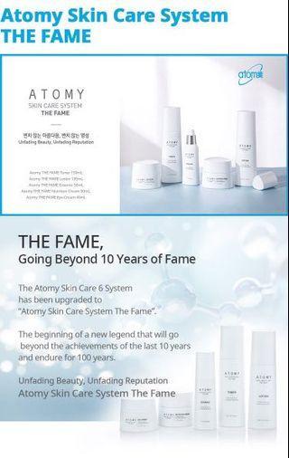 Korea skin care system Atomy The FAME 1 set