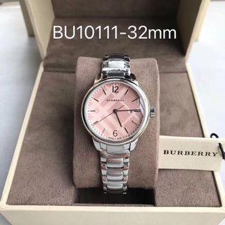 Burberry Women's Stainless Steel Bracelet Watch 32mm BU10111