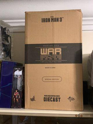 MISB hottoys Iron man war machine