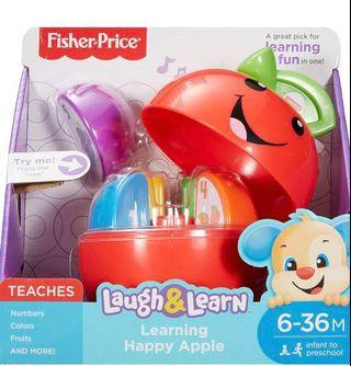 Fisher Price Laugh & Learn Happy Apple Toy Baby Toddler Kid