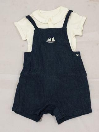 Marks & Spencer 2 pieces Dungarees & Bodysuit