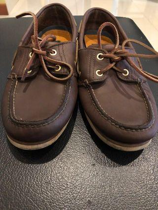 Timberland flat shoe brown