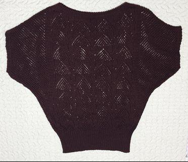 Maroon Knitted top (Urgently selling)