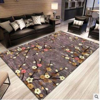 40cmx60cm carpet plum Yu 59