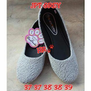 #BAPAU Grey flatshoes
