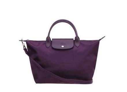 Longchamp le pliage neo ungu size L