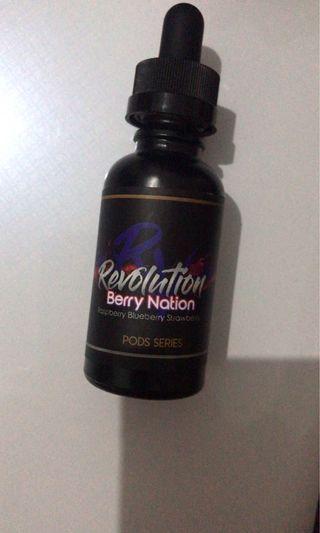 Liquid Vape BERRY NATION