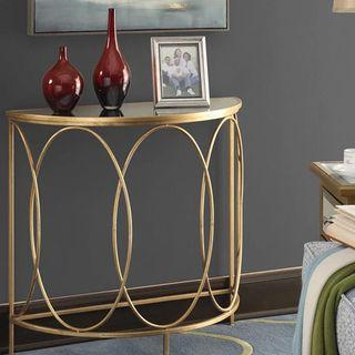 Marble TOP Semicircle Side Table