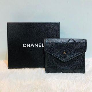 正品 Chanel Card Holder vintage black