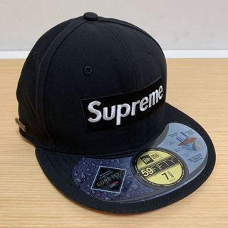 Supreme 6 Panel Cap (Gore-tex / Black / New Era)
