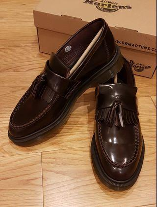 Dr Martens Adrian Tassel Loafer Size 42 (Red Cherry Arcadia)