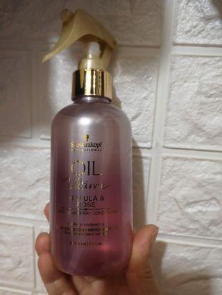 正品Schwarzkopf噴式香水髮尾油200ml(護髮香水)