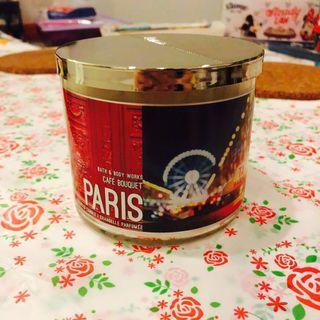 3 wick candle Bath and Body Works