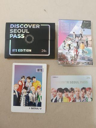 DISCOVER SEOUL PASS BTS LIMITED EDITION