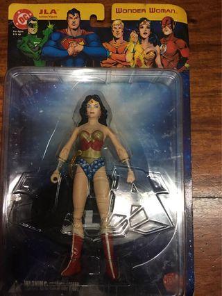DC Direct Wonder Woman JLA Series 1 MOC Action Figure