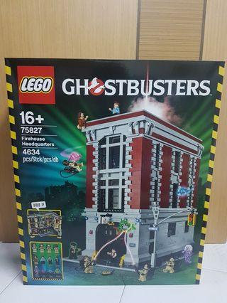 Lego 75827 Ghostbuster Firehouse Headquarters