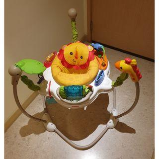 Fisher-Price Jumperoo / Jumper seat with jungle toys