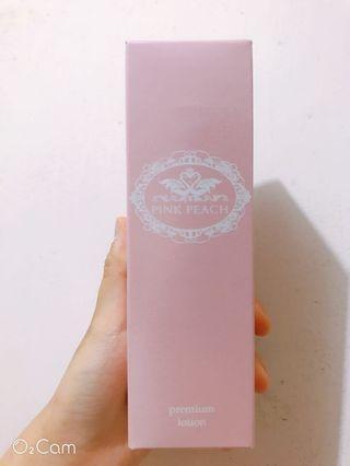 Premium lotion 爽膚水 化妝水 pink peach