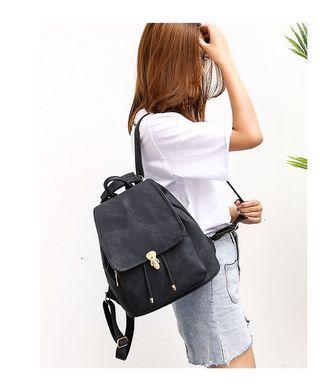 預購 pu 雙肩包 後揹包 後背包