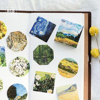 Van Gogh Inspired Stickers