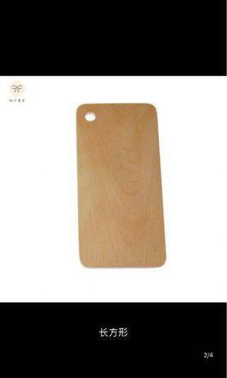 Wooden serving tray / board