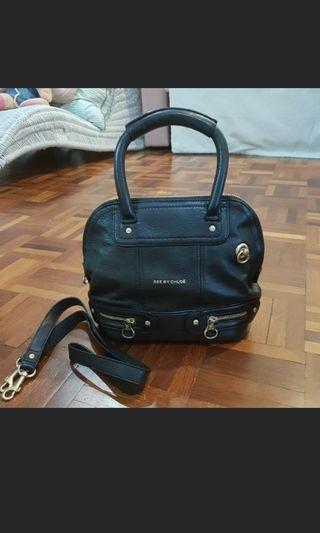 Authentic see by chloe sling bag