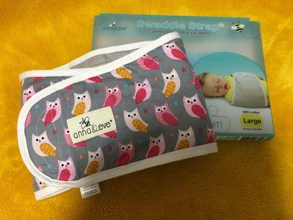 Anna & eve arm strap swaddle halo love to dream