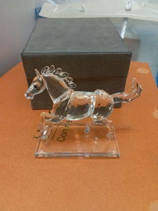 HSBC 水晶馬 擺設
