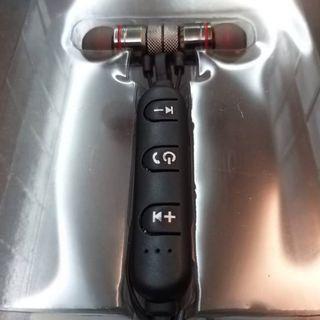 全新運動型磁吸藍芽耳機+1對2/防塵防汗/智能抗躁/HD通話音質優&收音讚+鐵灰黑 1隻特價299元+可面交/超商貨到付款