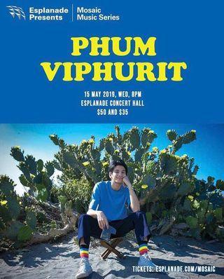 🚚 Phum Viphurit Cat 2 Ticket