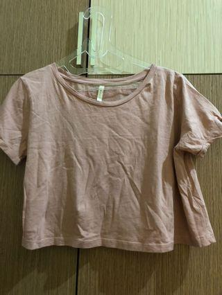 Stradivarius Crop Top T-Shirt