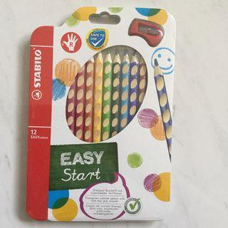 🚚 Stabilo Colour Pencils Ergonomic Easy Start Box of 12