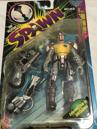 Spawn 再生俠 超人 Ultra Action Figure Superpatriot Mcfarlane 美系 日版 marvel Batman Todd