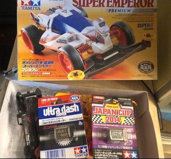 雙星 Super Emperor 四驅車 連摩打