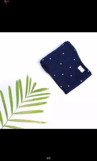 Geos my baby pouch navy dot new XL