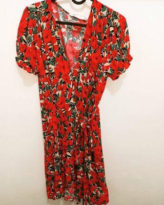 Flower Dress Zara