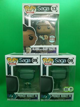 Funko Pop! Saga Set of 3