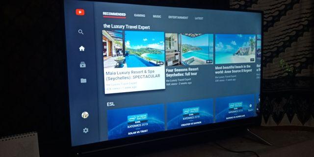 "Smart TV Sharp 40"" Full HD 1080p"
