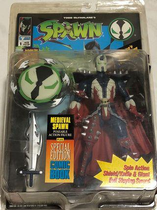 Spawn 再生俠 超人 Ultra Action Figure Medival Spawn Mcfarlane 美系 日版 marvel Batman Todd