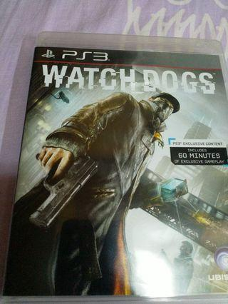 PS3 Game Watch Dogs