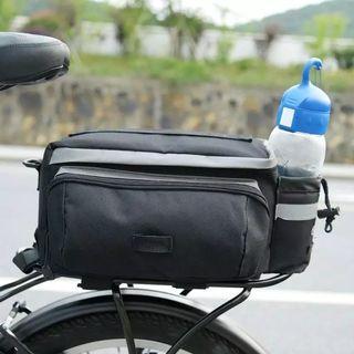 Roswheel 13L Utility Bicycle Rear Seat Bike Trunk Rack Shelf Bag Pannier Pack Shoulder Handbag