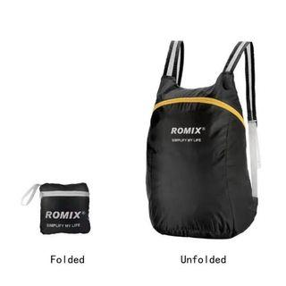 ROMIX RH30 Portable Storage Backpack Travel Backpack Picnic Camping Bag 16L Outdoor Backpack Foldable Bag