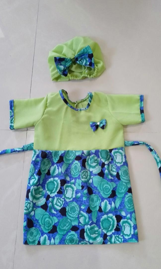 3 pcs mini dress anak usia 1 tahun take all 100rb