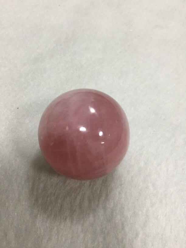 粉晶圓球約40mm