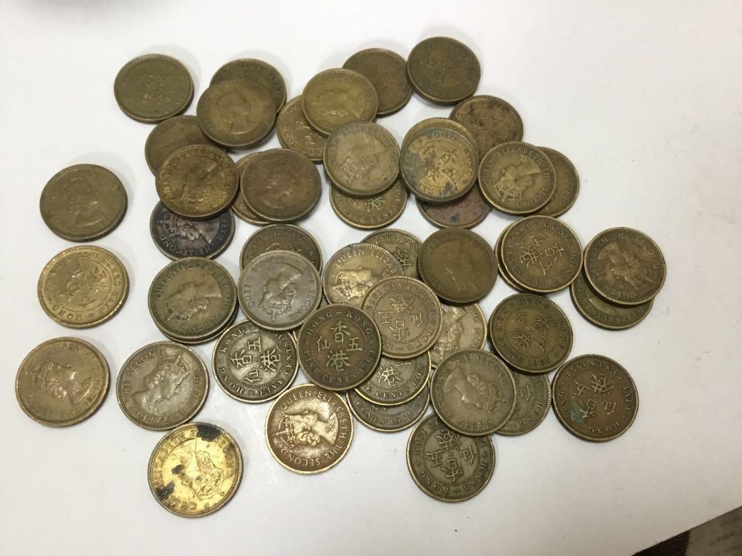60-70年代五仙硬幣