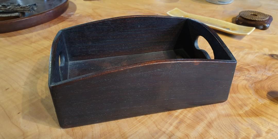 木製置物盒(老東西)  22.5x15.5x7.5cm