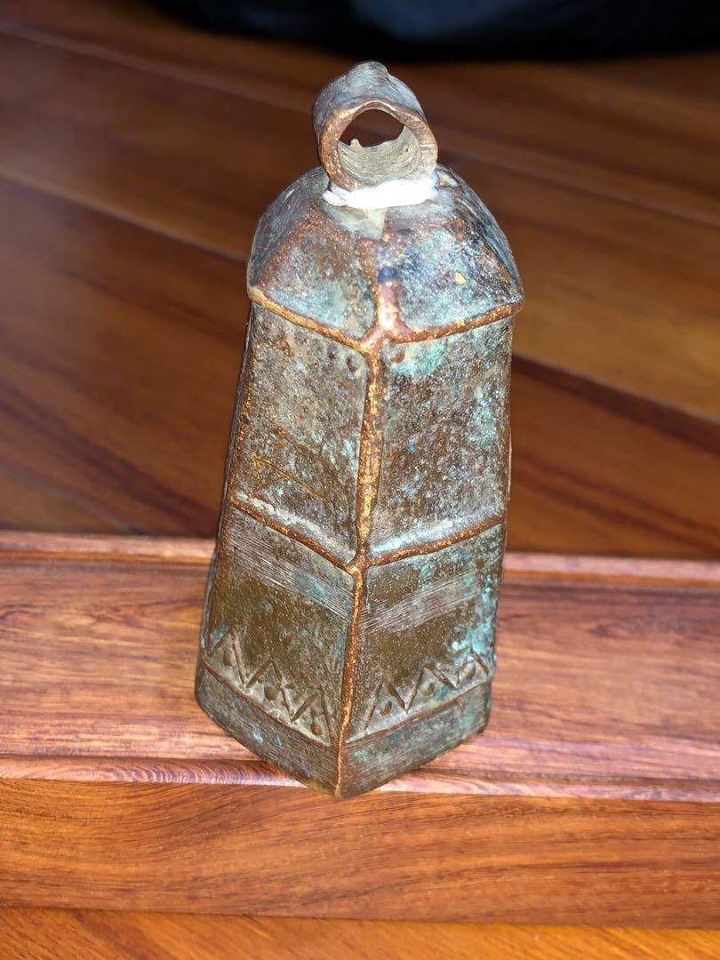 古老 銅牛鈴
