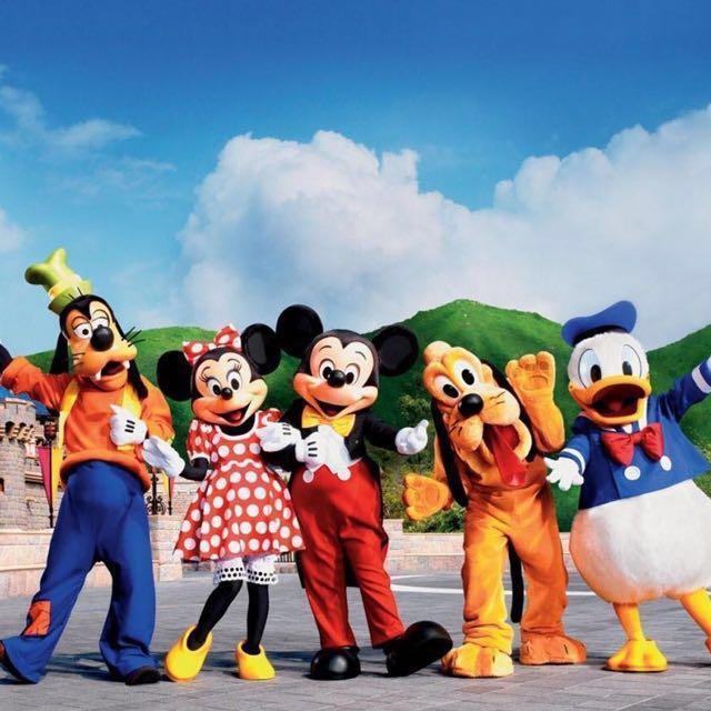 代訂 香港迪士尼樂園門票 Hongkong Disneyland ticket 一日門票 / 兩日門票 成人 小童門票