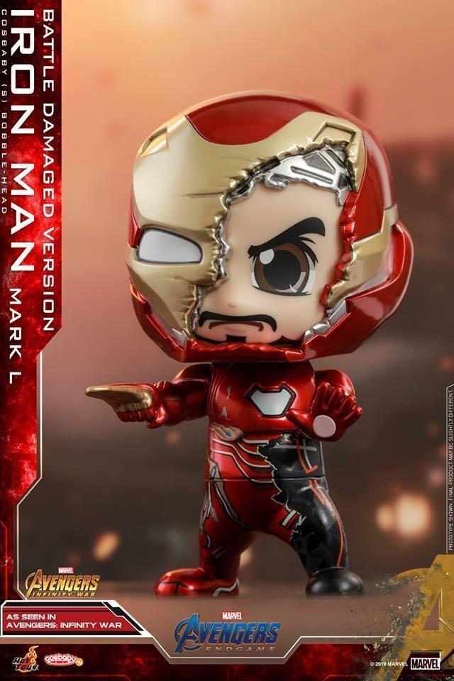 戰損 Iron Man Cosbaby
