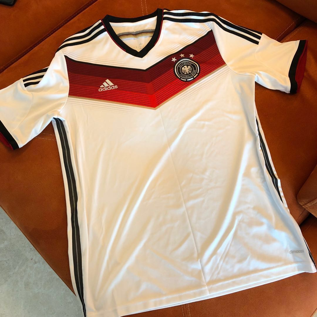 594ed33508a adidas Germany 2014 World Cup Winners Home Replica Jersey - Adult ...